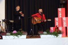 Musikduo Manfred Pohlmann und Dirko Jochum