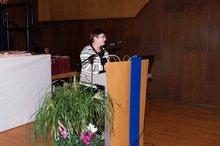 Bezirksvorsitzenden Elke Fleßner