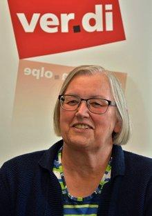 Gewerkschaftssekretärin Mechthild Boller-Winkel