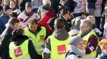 Warnstreik in Hagen