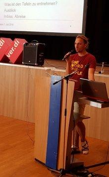 Daniel Heinz, Sprecher der ver.di-Jugend