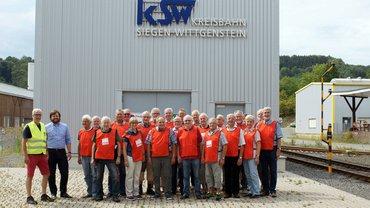 ver.di-Seniorinnen und Senioren zu Gast bei der Kreisbahn Siegen-Wittgenstein