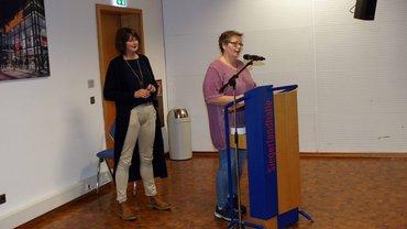 v.L. Sonja Irle, Angelika Fichtner