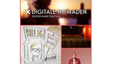 """Klarsichtkino """"Digitale Nomaden - Deutschland zieht aus"""""""