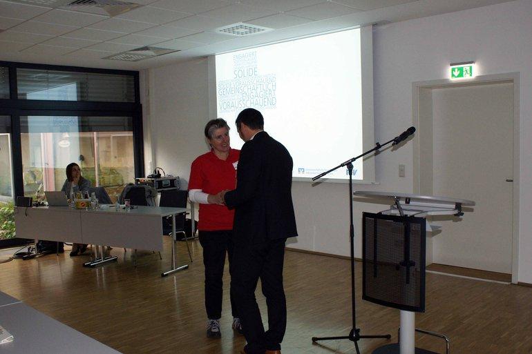 Jutta Brandenburger und Alexander Wolff