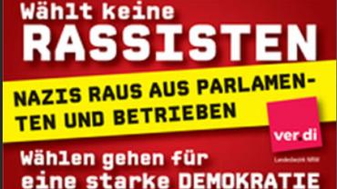 Nazis raus aus Parlamenten und Betrieben
