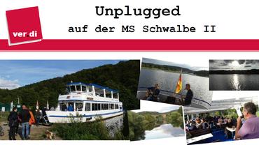 Rundfahrt in geselliger Runde auf der MS Schwalbe II