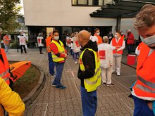 Warnstreik in der Tarifrunde Bund/VKA 2020 in Südwestfalen