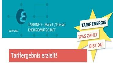 Tarifabschluss bei Mark-E / Enervie Vernetzt erzielt!