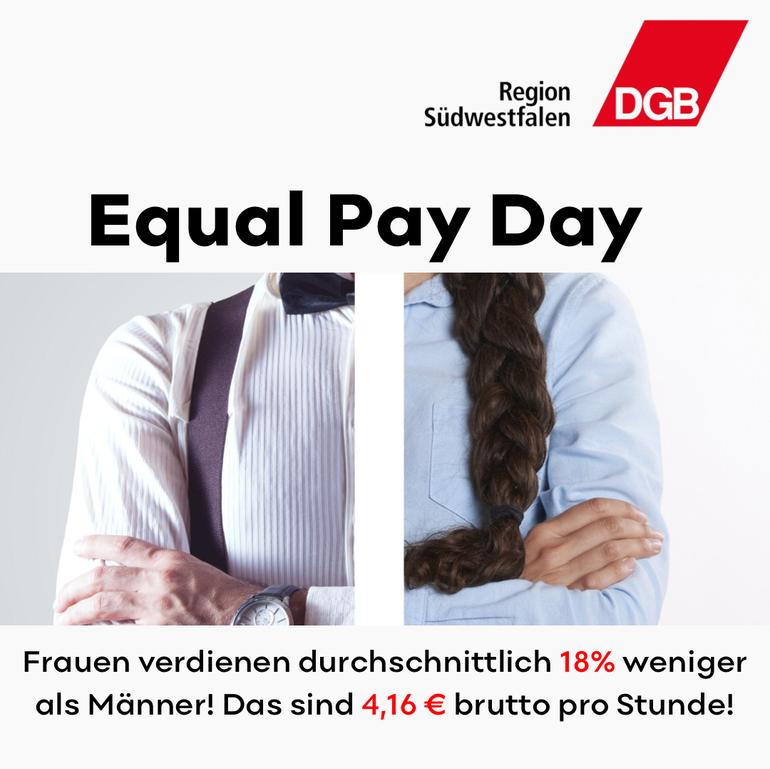 Equal Pay Day 2021: Wir bleiben am Ball