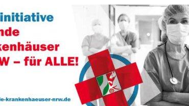 ver.di Südwestfalen ist dabei und unterstützt die Volksinitiative Gesunde Krankenhäuser in NRW - für ALLE!