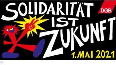 Der Tag der Arbeit steht auch 2021 im Zeichen der Corona-Pandemie. Neben Aktionen vor Ort wird der Deutsche Gewerkschaftsbund (DGB) wie im vergangenen Jahr wieder einen Livestream zum 1. Mai senden. Hashtag zum 1. Mai 2021: #SolidaritätIstZukunft