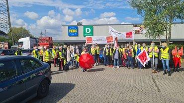 Streik bei Kaufland 1