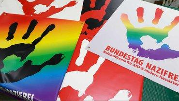 BUNDESTAG NAZIFREI - keine Stimme für AfD & andere Rassisten