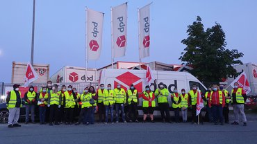 DPD Wilnsdorf: ver.di-Streik legt Auslieferung lahm